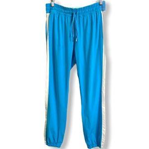 LULULEMON Turquoise Lightweight Nylon Joggers Sz 8